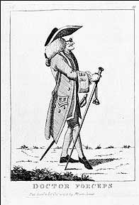 Doctor Forceps etching, 1773