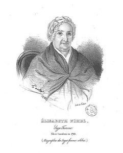 image of Elizabeth Nihell, 18th century British midwife