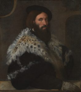 Portrait of Girolamo Fracastoro by Titian (Source: Wikimedia Commons)