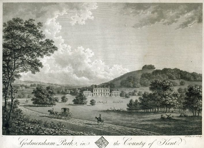 Godmersham Park E. Hasted book 1799