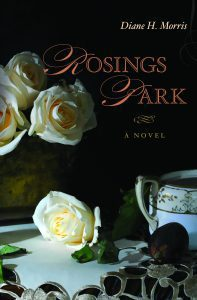 Hot off the press: the new cover for the second edition of Rosings Park