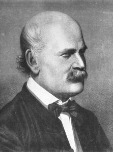 Ignaz Semmelweis, 1860 (Source: Wikimedia Commons [PD-1923])