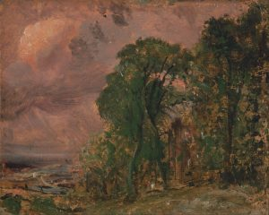 A View at Hampstead with Stormy Weather by John Constable (Wikimedia Commons [PD-1923])