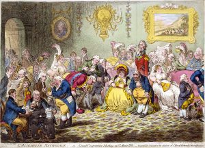 L'Assemblée Nationale by James Gillray, 1804 (Wikimedia Commons)
