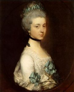 Lady Elizabeth Montagu, Duchess of Buccleuch and Queensbury by Thomas Gainsborough (Wikimedia Commons)