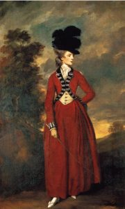 Lady Worsley, nee Seymour Dorothy Fleming (Source: Wikimedia Commons)