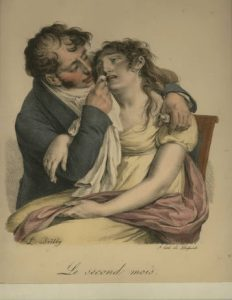 Le Second Mois by L-L. Boilly
