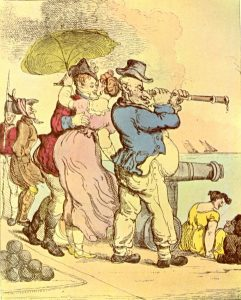 Stolen Kisses by Thomas Rowlandson (Source: Wikimedia Commons)