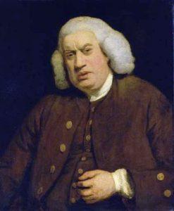 Portrait of Samuel Johnson by Joshua Reynolds (Source: Wikimedia Commons)