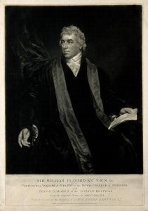 Sir William Blizard (Source: Wellcome Library London image #V0000593 and Wikimedia Commons CC BY 4.0)