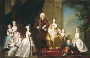 The Radcliffe Family, ca. 1742