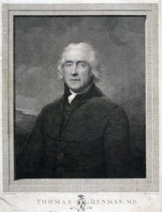 image of Dr. Thomas Denman, Regency man-midwife