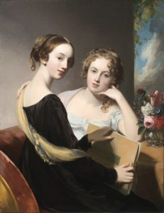 Portrait of the Misses Mary and Emily McEuen by Thomas Sully (1823)