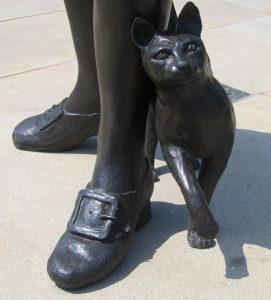 Trim, Matthew Flinders' cat, Donington, Lancashire (Author: Rodney Burton, 2006) (Wikimedia Commons)
