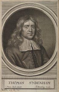 Portrait of Thomas Sydenham (Source: Wikimedia Commons)